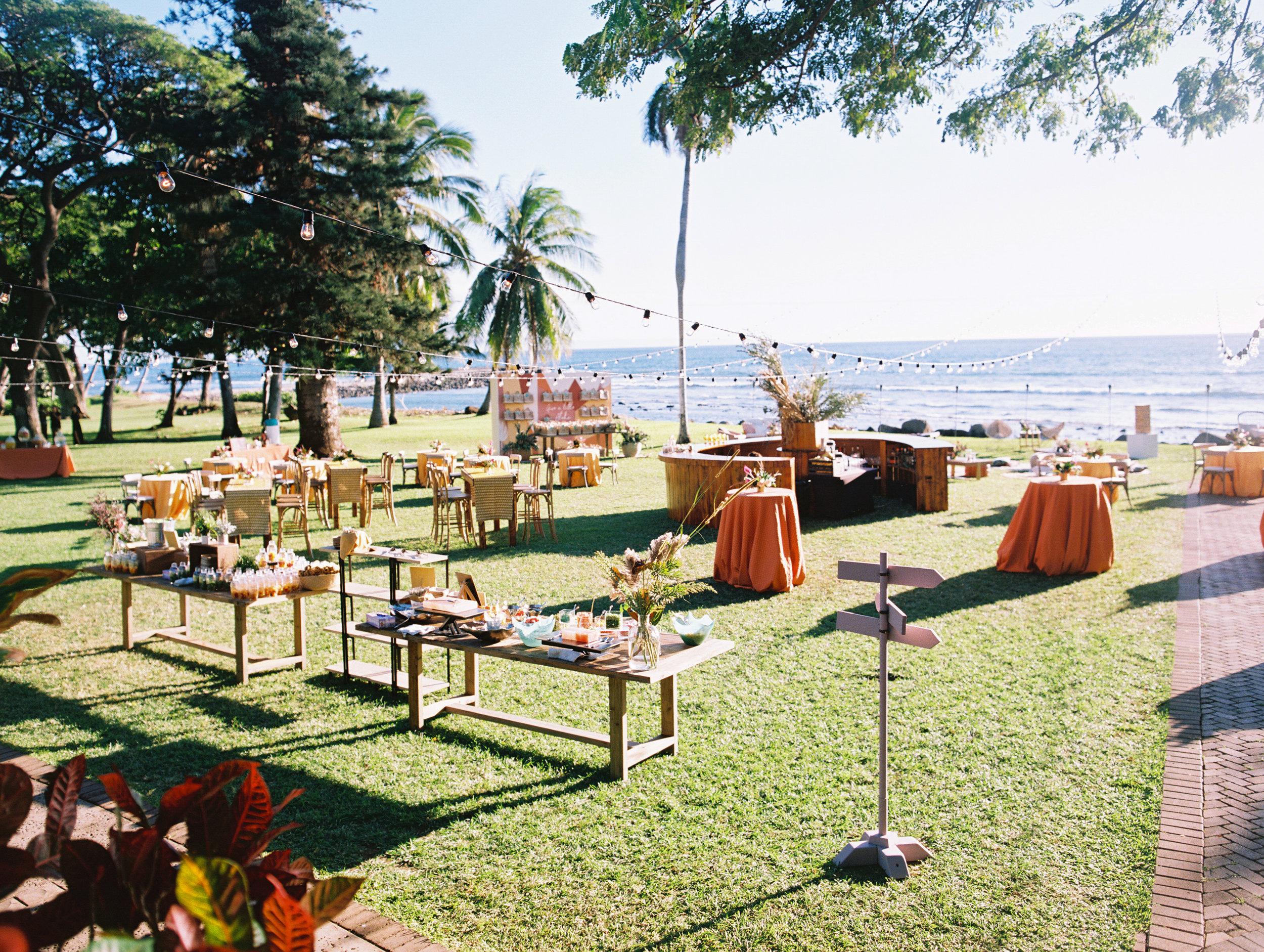 Welcome Reception | Hawaii Wedding Planner | Unveiled Hawaii | Blog
