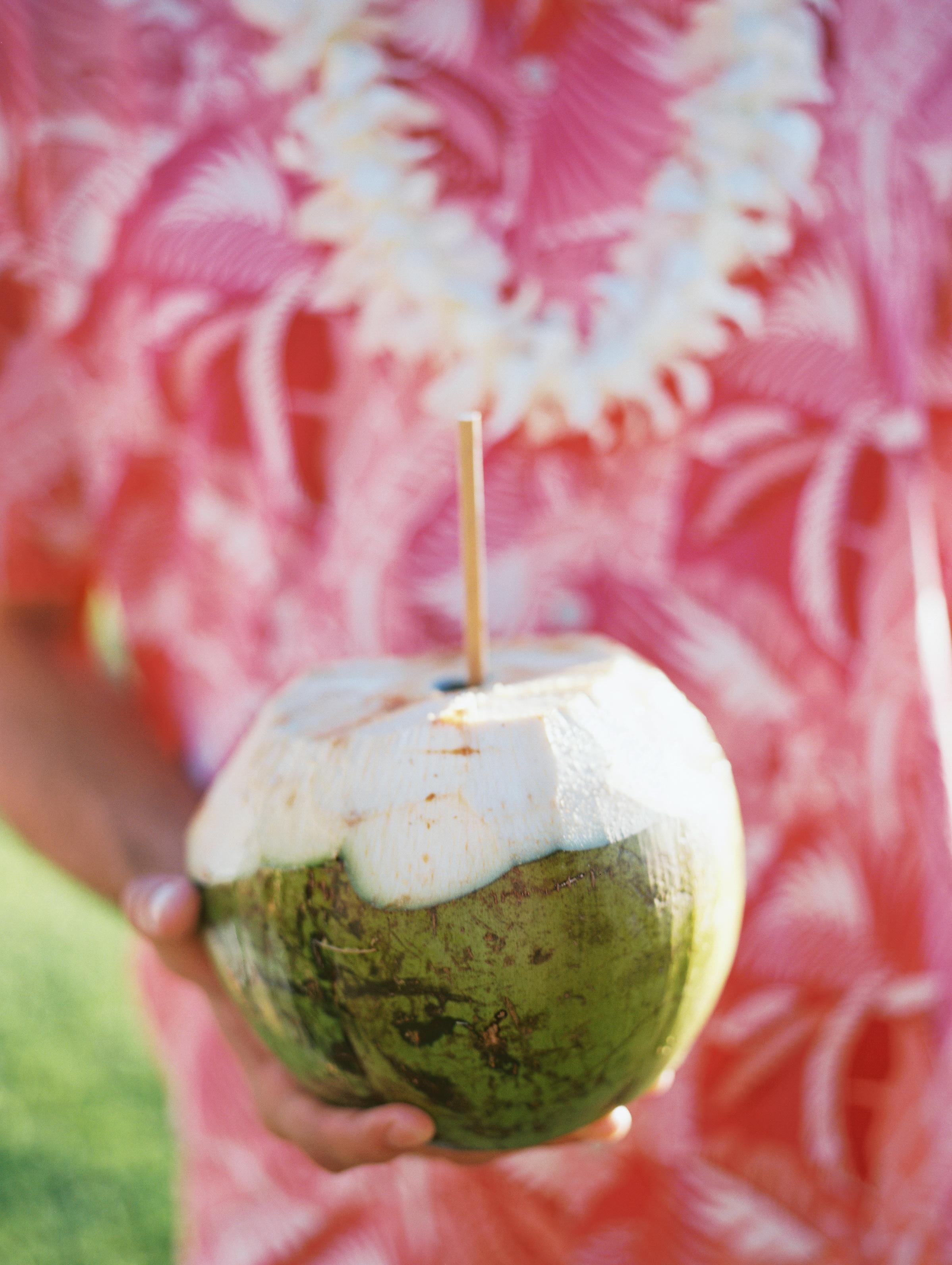 Coconut Drink | Hawaii Wedding Planner | Unveiled Hawaii | Blog