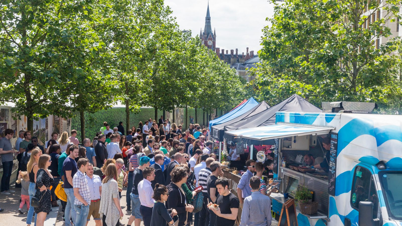 KERB Street food and St Pancras