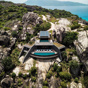 THE RESIDENCES, ZIL PASYON SIX SENSES, SEYCHELLES