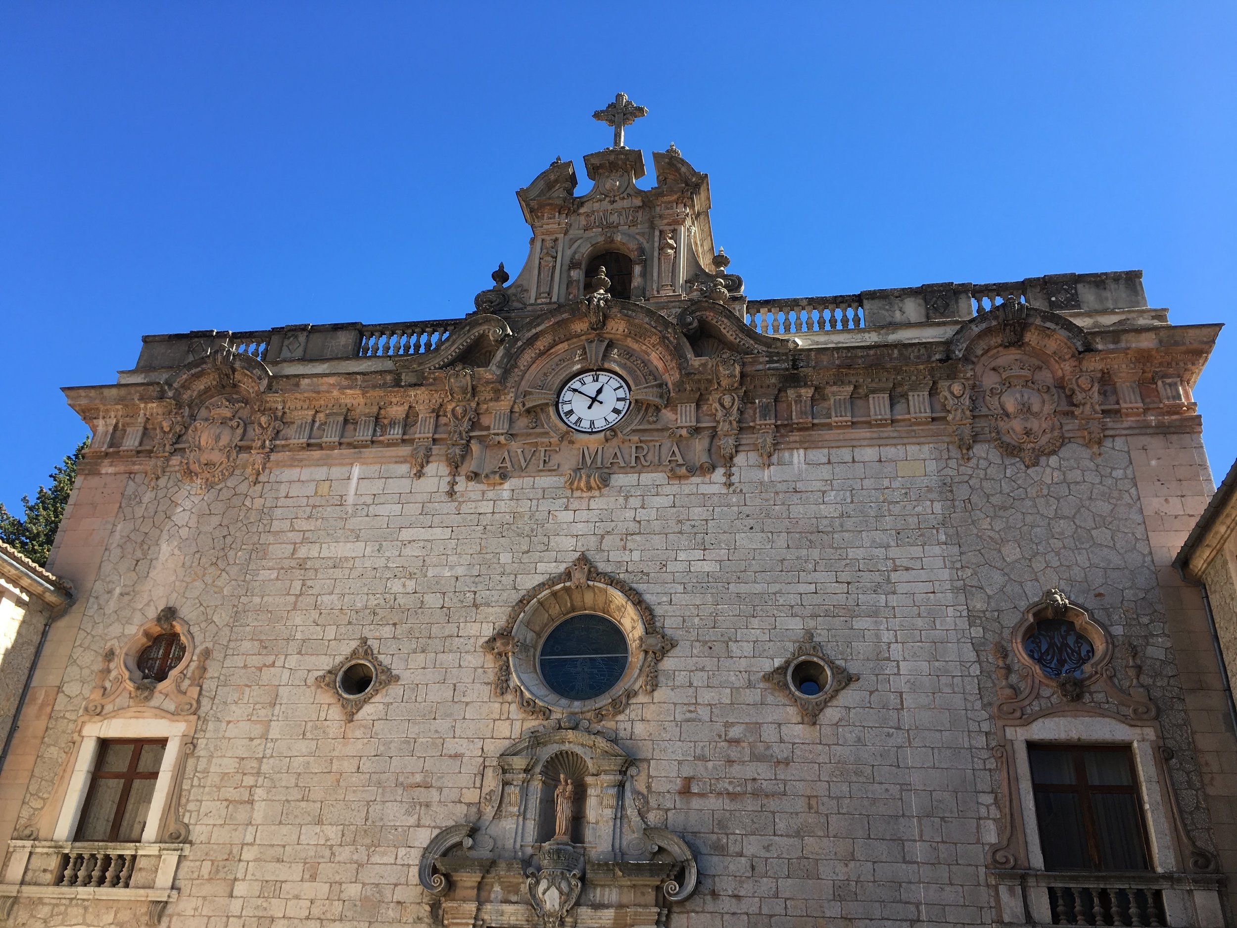 4) Visit the monastery at Lluc - One of the top sights on the island, and if you have time take the scenic drive through the mountains to the Port de Soller for lunch or dinner.
