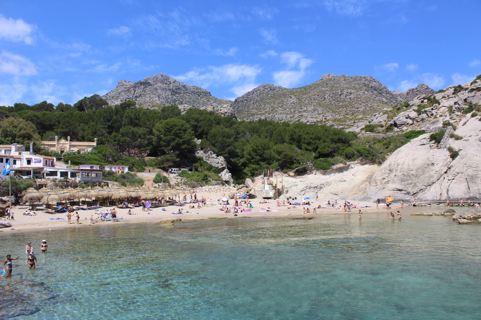 6) Have lunch overlooking the bay in Cala St Vicenc - a lovely beach and much quieter than the Port, with a more laid-back atmosphere. Watch out for jellyfish though if you venture into the bay for a swim