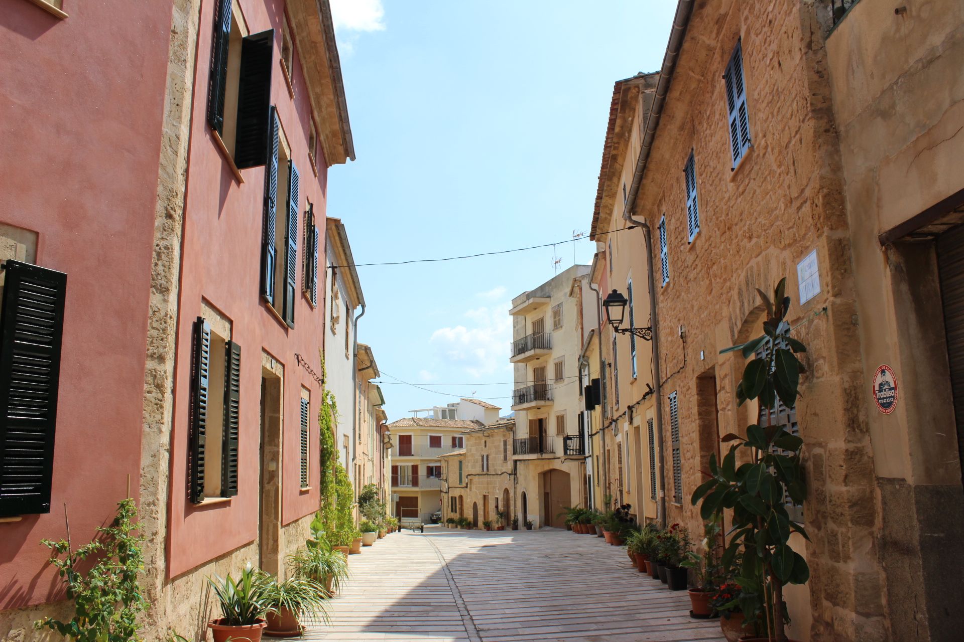 7) Go shopping in Old Town Alcudia - You can park outside the walled town, and wander the streets inside for bargains. Plenty of great lunch/drinks stops too.