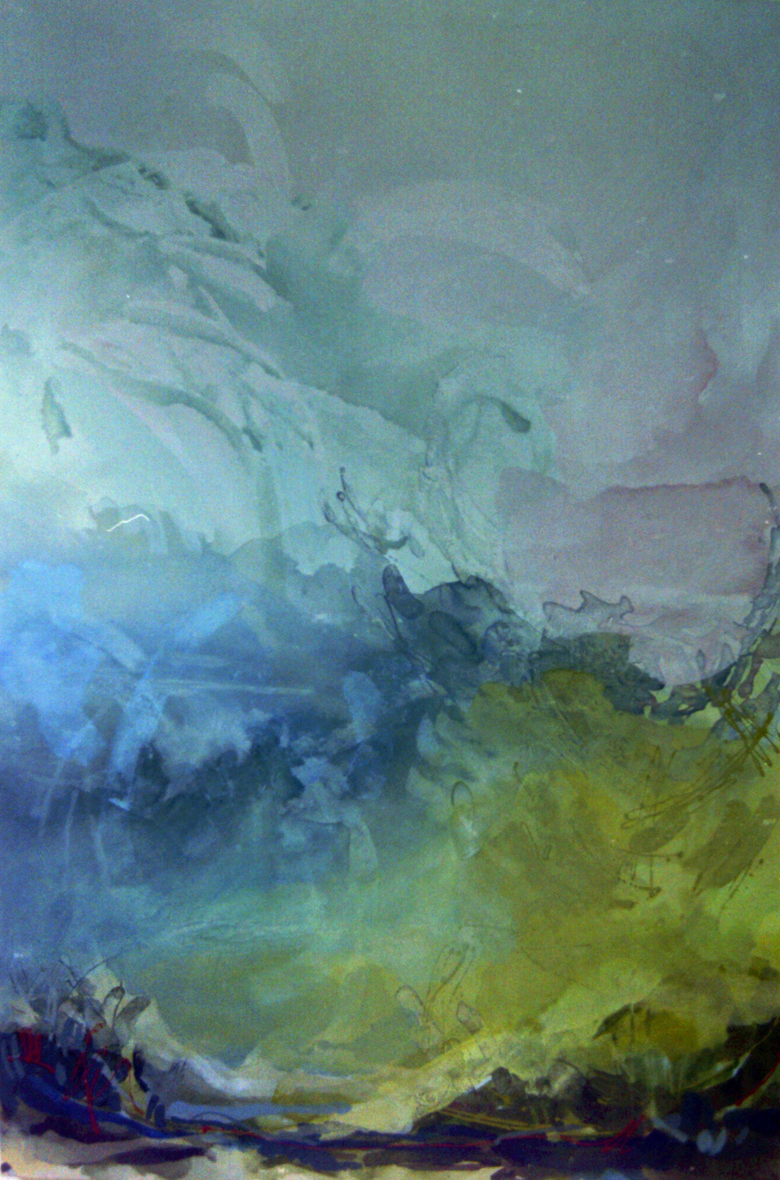 seascape 8, acrylic on canvas, 1998, 40 x 60cm sold