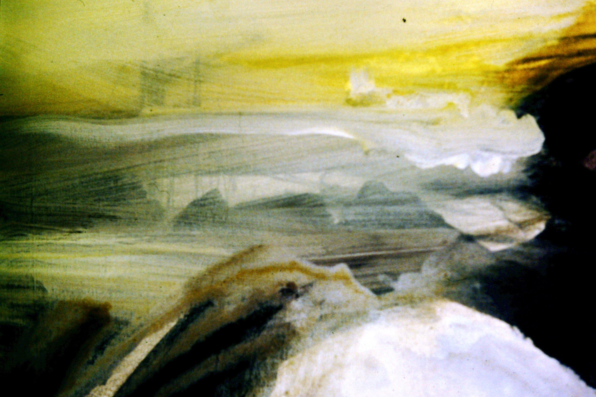 tardebigge, acrylic on canvas, 1999, 50 x 40cm sold