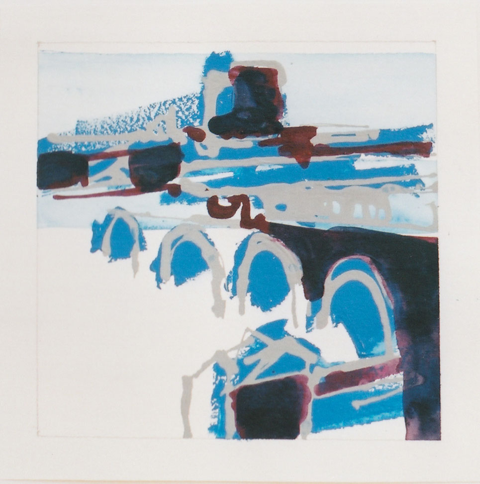 acrylic on paper, 14 x 14cm, 2001, commissioned