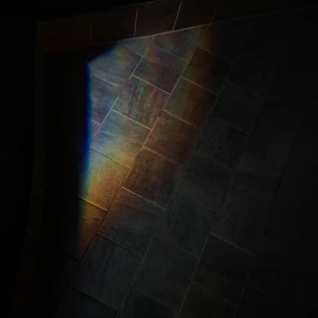 🌈 My own personal rainbow.  Lifetime achievement 🙌  #SunshineLollipopsAndRainbows #singalong #TheWeatherOutsideIsFrightful