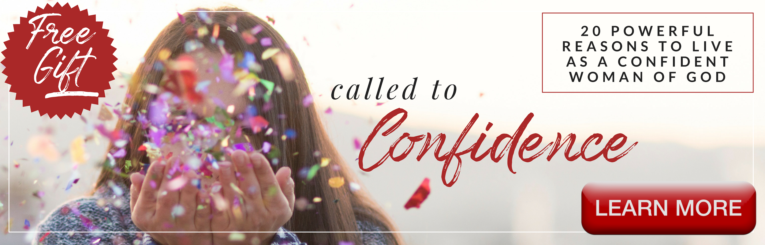Called to Confidence Banner - FREE Download