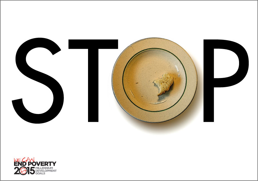 UN campaign to stop poverty