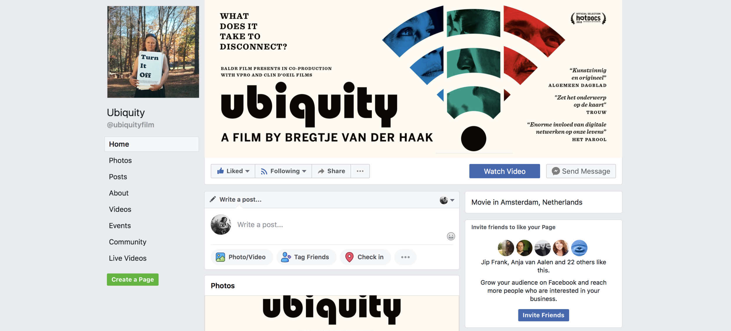 Facebook Ubiquity