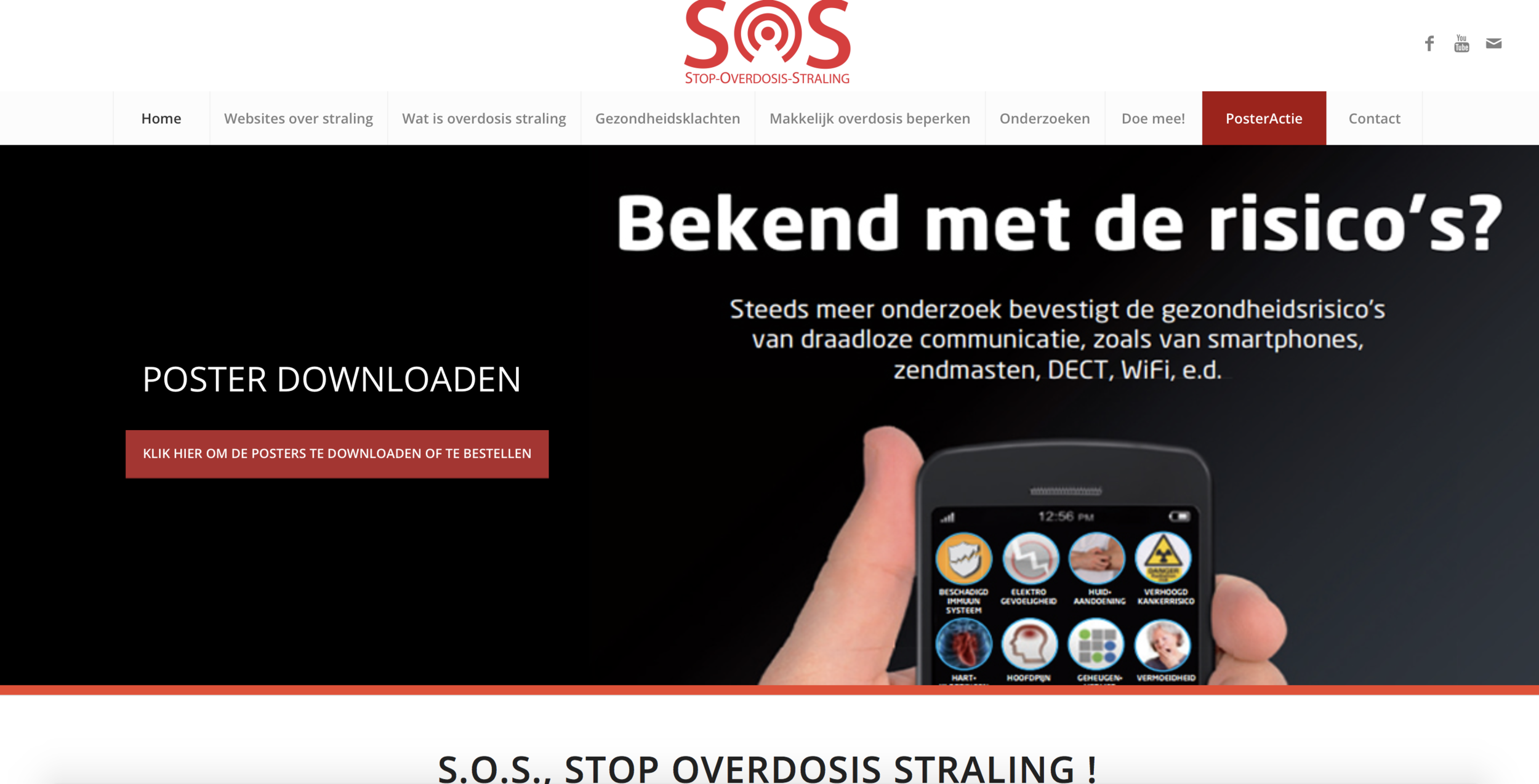SOS Straling