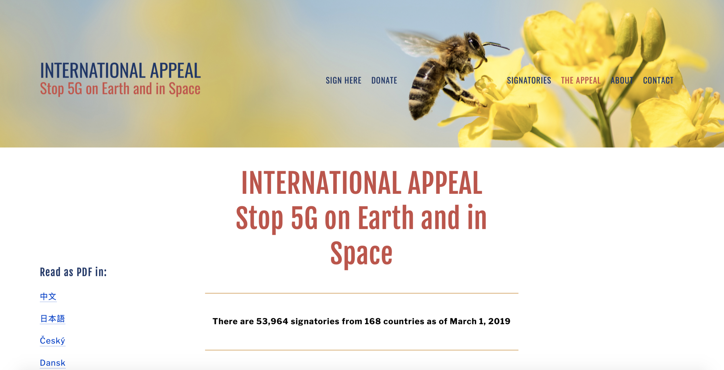 Stop 5G Space Appeal