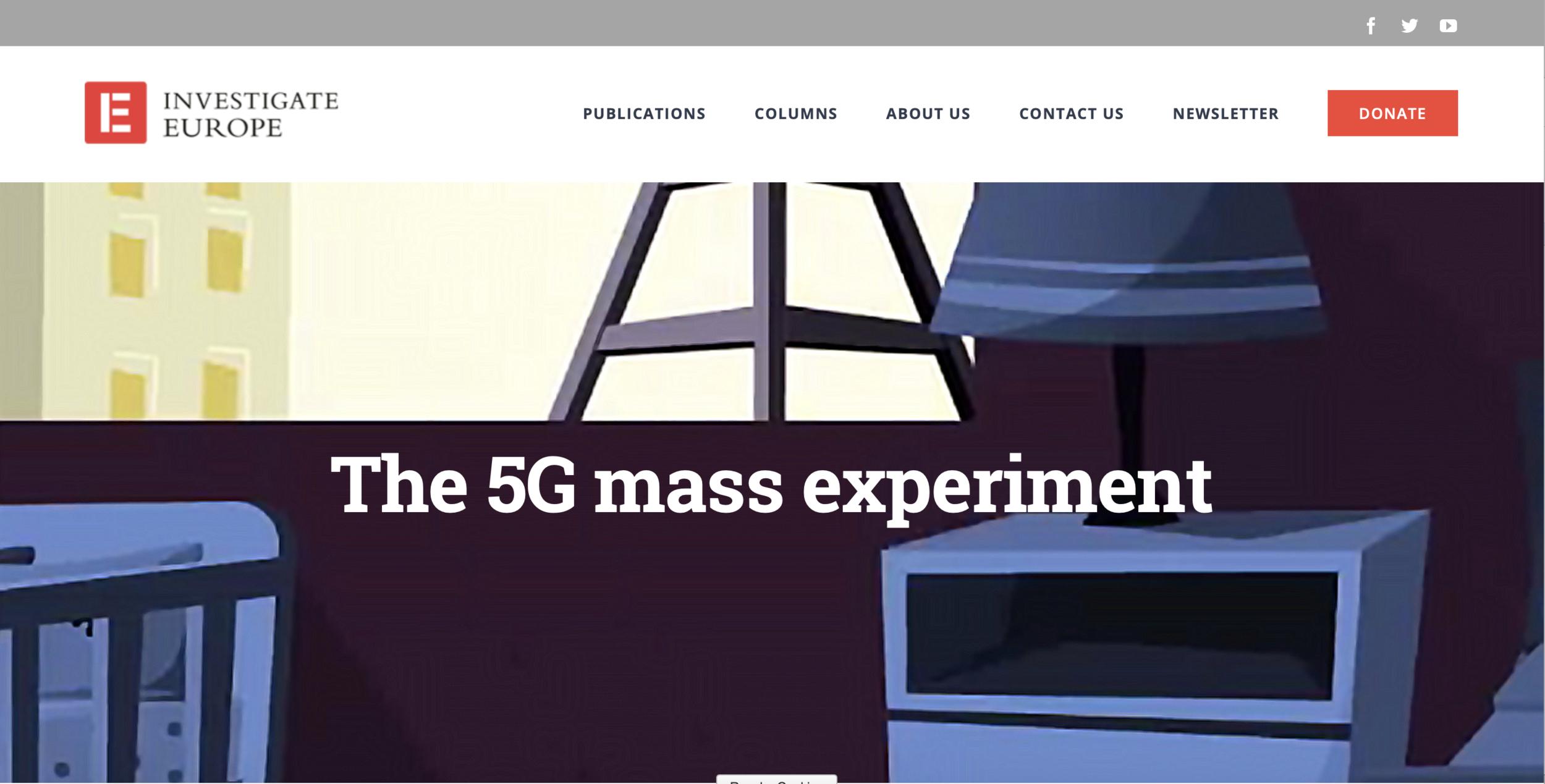 5 G Mass Experiment