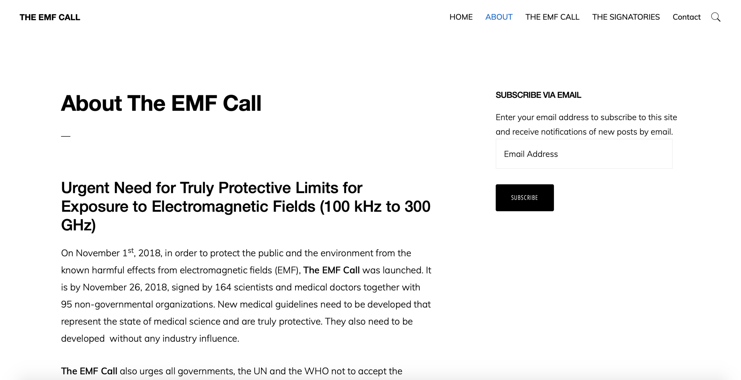 EMF Call