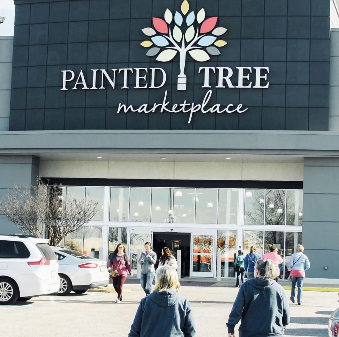 Shop 7 days a week from 10am-8pm at The Painted Tree Marketplace located at 8045 Giacosa Place, Memphis, TN.