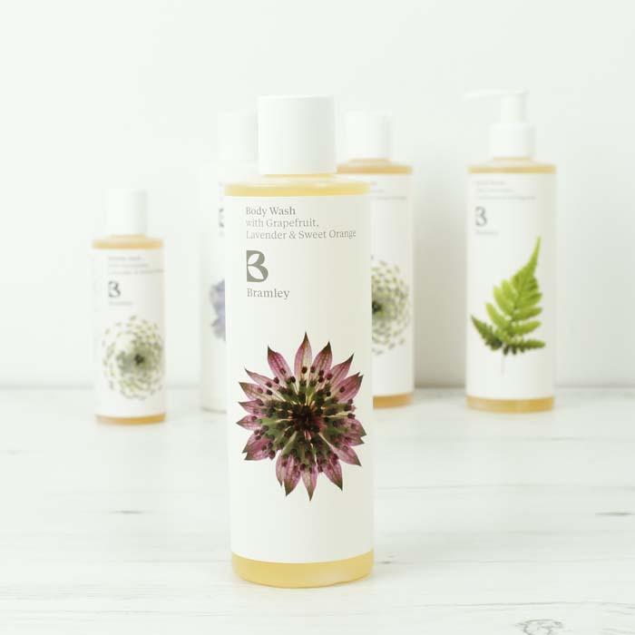 - Organic Bramley bathroom products