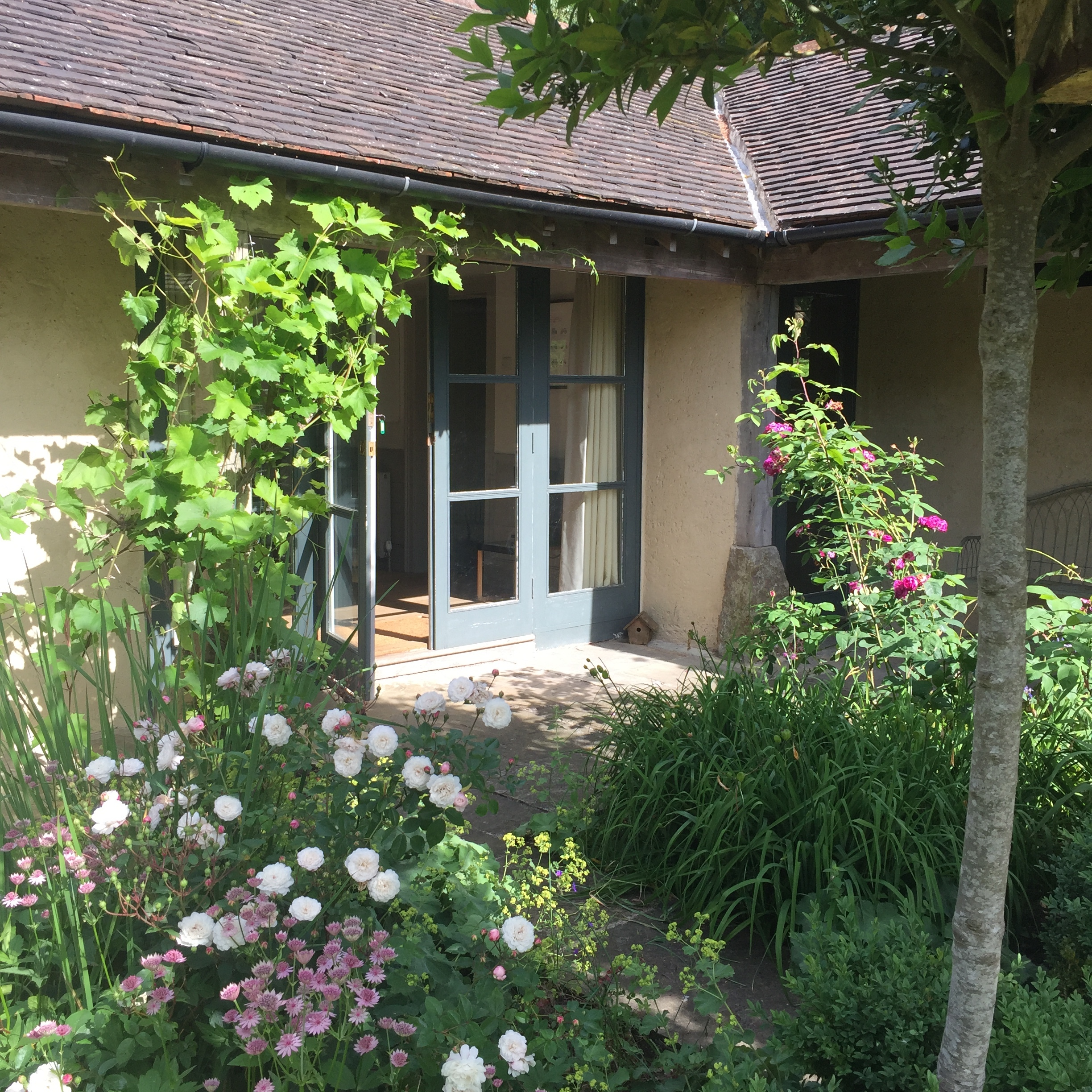 - Separate guest entrance adjacent to the main house
