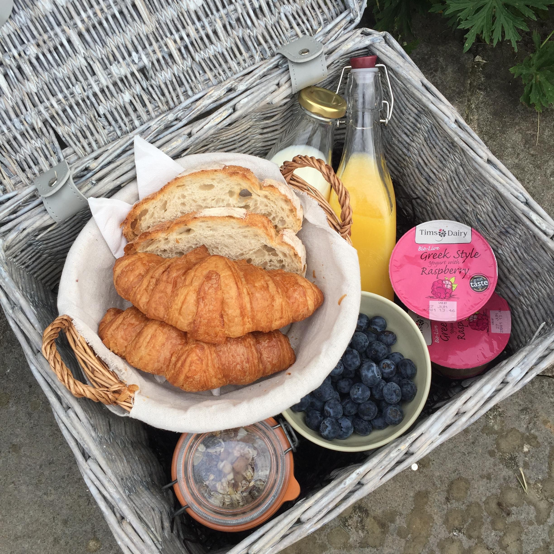 - Continental breakfast hamper
