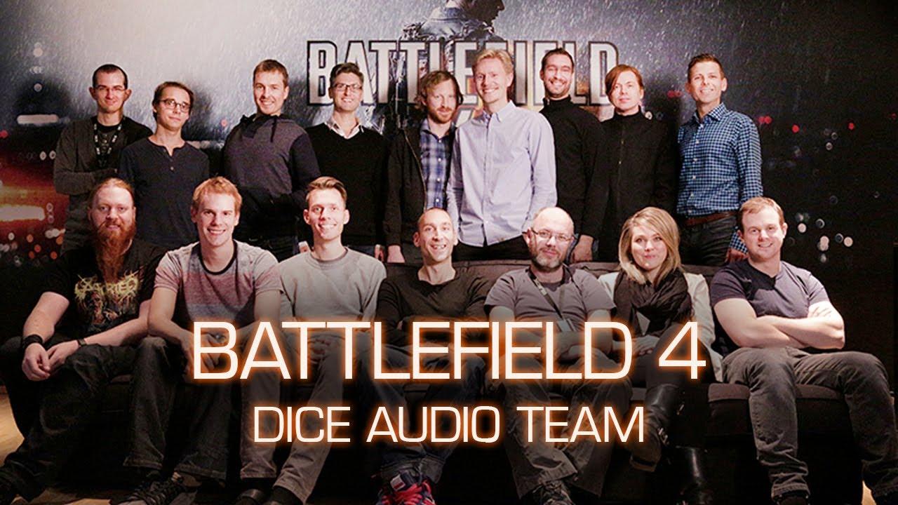 Num projeto de grande porte (AAA) uma equipe de áudio pode ter algumas dezenas de pessoas ;) -