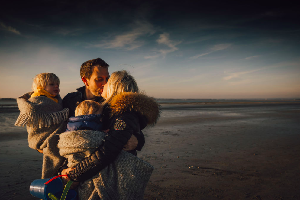 West Wittering in Winter Family Lifestyle Photographer