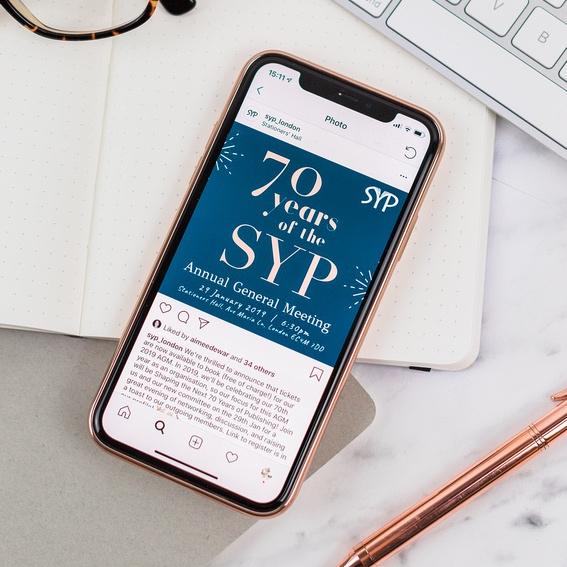 event Branding - Bespoke branding for non-profit SYP