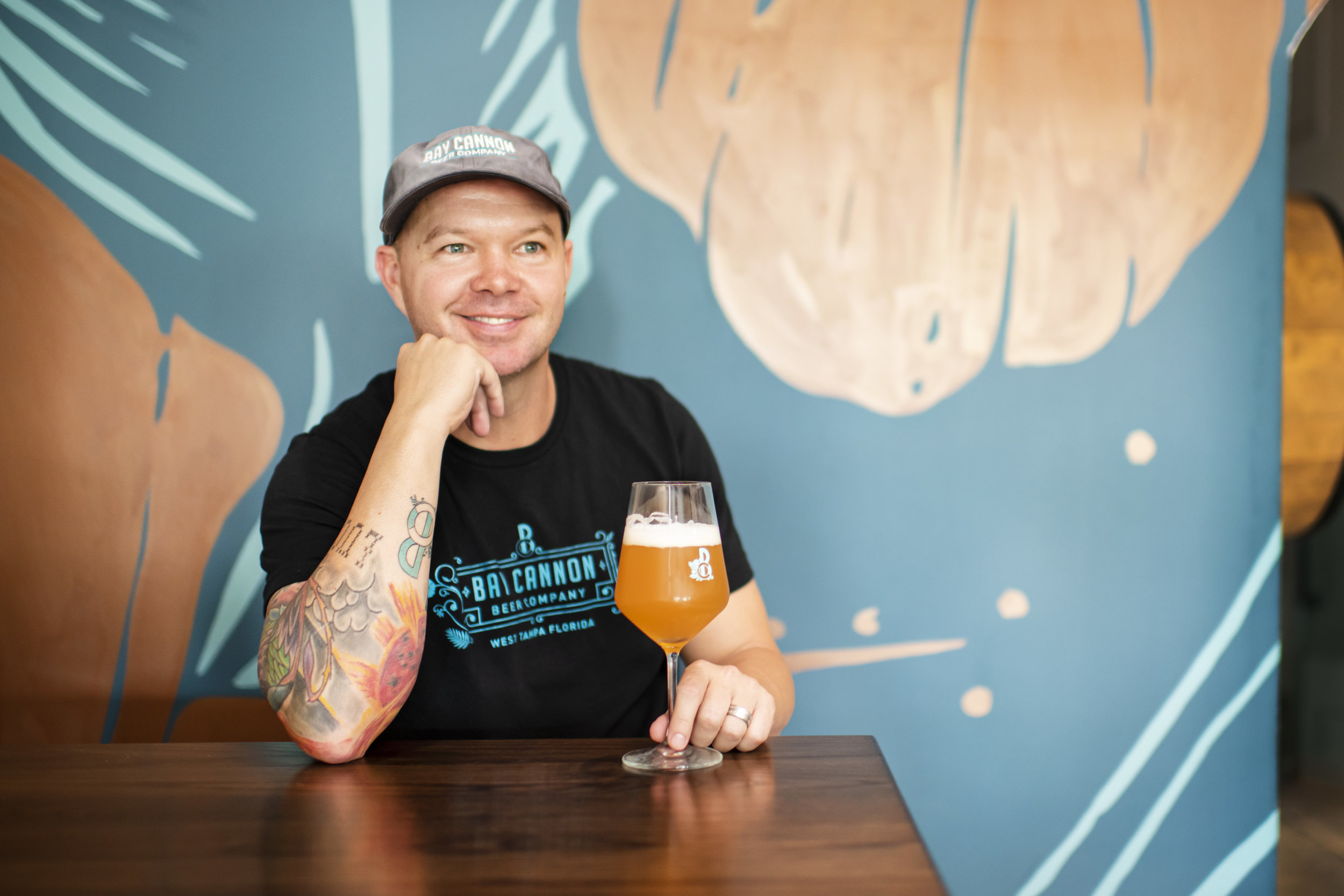 MEET MATTHEW, CO-FOUNDER AND COO. COME INTO THE BREWERY AND SAY HELLO, HE'LL TELL YOU ALL ABOUT WHAT'S ON TAP & ALWAYS HAPPY TO TALK FSU OR VIKINGS FOOTBALL.