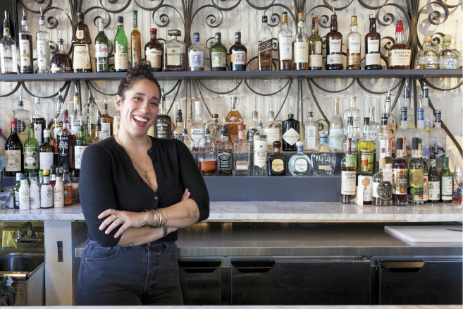 """Edible Queens: Astoria's Queen's Room: An Homage to Leadership, Femininity, Beyoncé, and Booze - """"I wanted to make this a place with some class and significance, while still being in Queens,"""" Joannides says. """"And being a female business owner—I want to be a queen too!"""""""