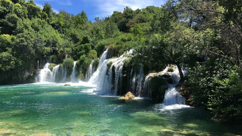 Krka National Park - Duration: 6.5-7 hoursThis excursion will depart by boat at 10:30am for a 6.5-7 hour exploration of the beauty of this untouched ecosystem. You will see seven waterfalls, including Skradinski Buk, the largest in the park. Price: €72,90Program includes: Departure from Amadria Park by boat, entrance ticket to Krka National Park, lunch on board, a guide, and return by bus.