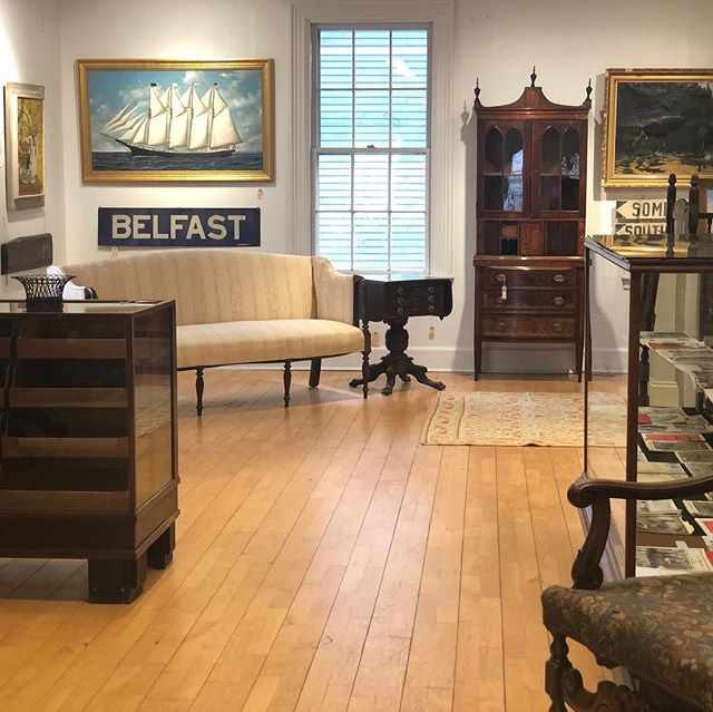 Looking for a lovely place to showcase your antiques? Stop by Freeport Antiques & Heirlooms Showcase at 31 Main Street in downtown Freeport, Maine. We are currently accepting dealers offering a unique collection of antiquities to join our community! Feel free to contact us here at the shop at: # 207.869.5091 . . . #antique #antiqueshop #downtown #freeportme #shoplocal #newengland #llbean #spaceforrent #vintage #goneantiquing #maine #visitfreeport