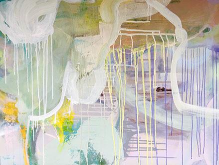 Stillness, Acrylic on Canvas 36x48 in.