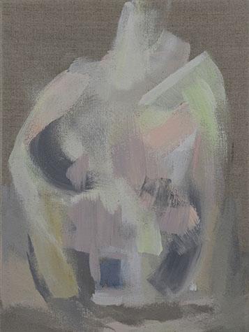 Veil, Acrylic On Linen, 12x16 in.