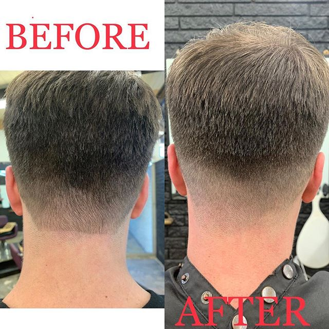 When the shear salesman needs a  haircut correction, YOU fix it. I guessed it, this was only a 3 day old haircut. See all better! This will now have a natural grow out for my new client. .•. Book with us ..••.. @ ...•••... hairartBR.com ....••••.... .....•••••..... #hair #hairart #hairartandcompany #hairartist #beautyshop #salon #barbershop #ladybarber  #taperfade #menscut  #barbering  #faded  #nolines  #mensgrooming #hairstylist #haircut  #cut #batonrouge #clippercut  #batonrougehair  #batonrougehairstylist  #midcity #wearemidcity