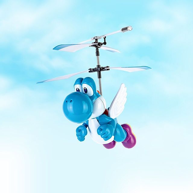 Ready to Fly with Yoshi?  #carreramoments #carrerarc #yoshi #flyingyoshi #fun #flying #supermario