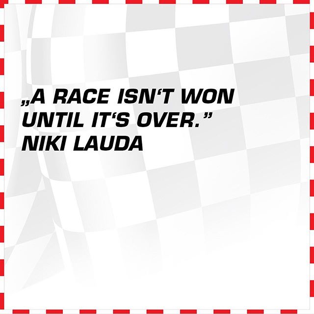 This is something the Formula 1 drivers have to remember during the German GP this weekend.  #quteoftheday #carreramoments #nikilauda #rip #thankyouniki #formula1 #racing #germanGP #winner #grandprix #motorsports
