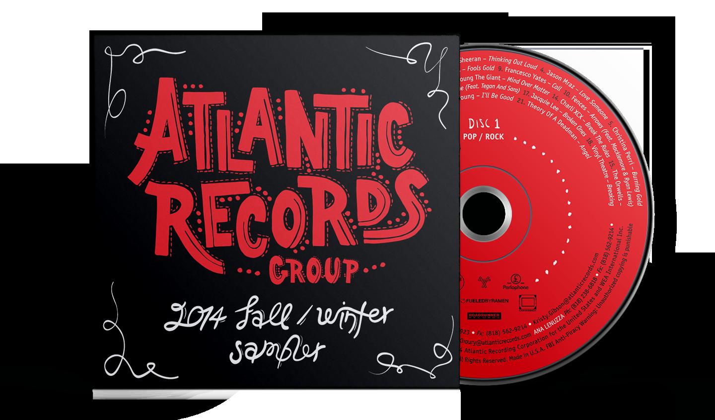 Fall-Winter Atlantic artists sampler album artwork