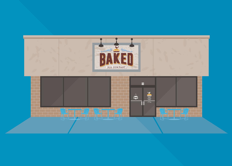 Baked Pie Company, Long Shoals Road, Asheville