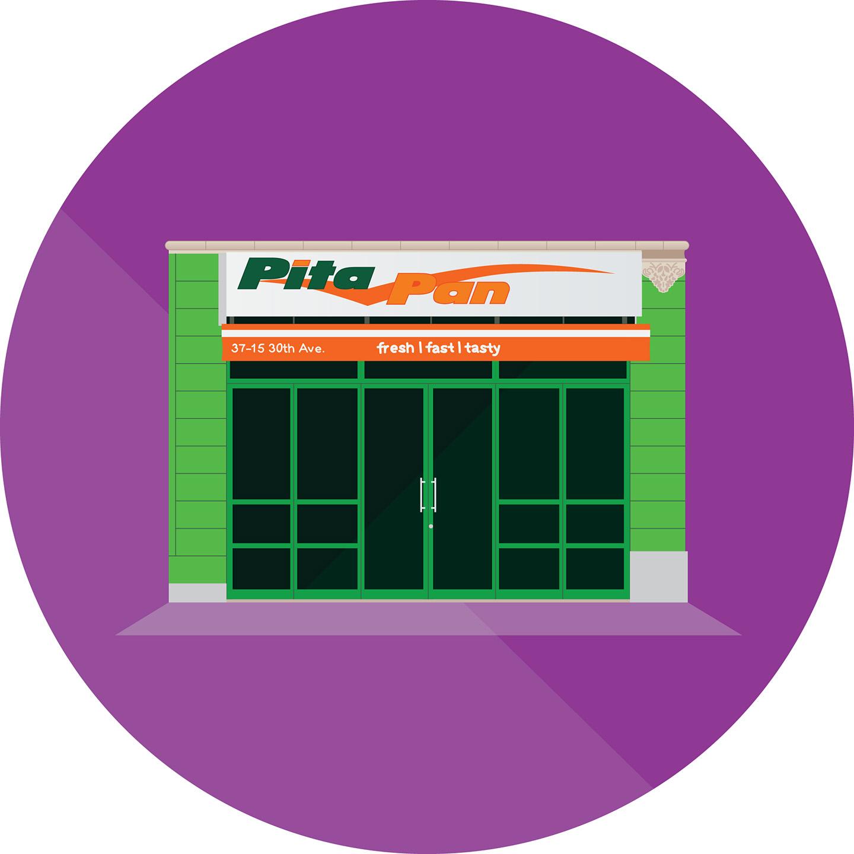 Pita Pan, 30th Avenue, Queens