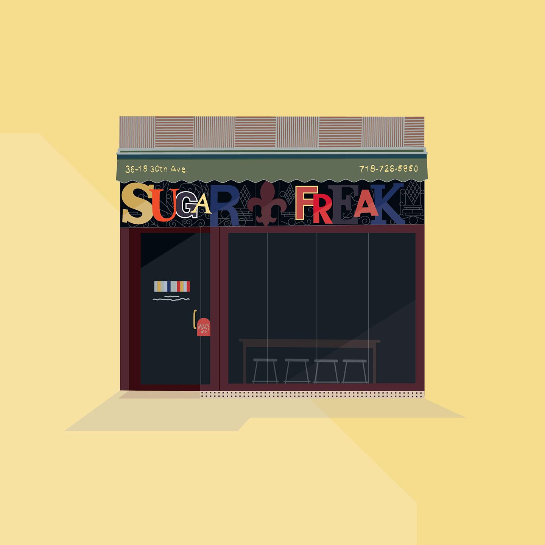 Sugar Freak, 30th Avenue, Queens