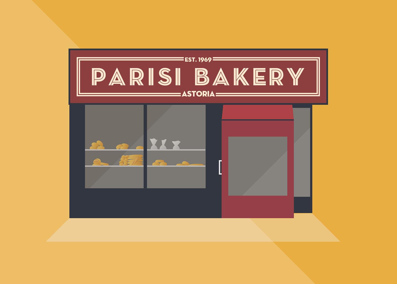 Parisi Bakery, Broadway, Queens