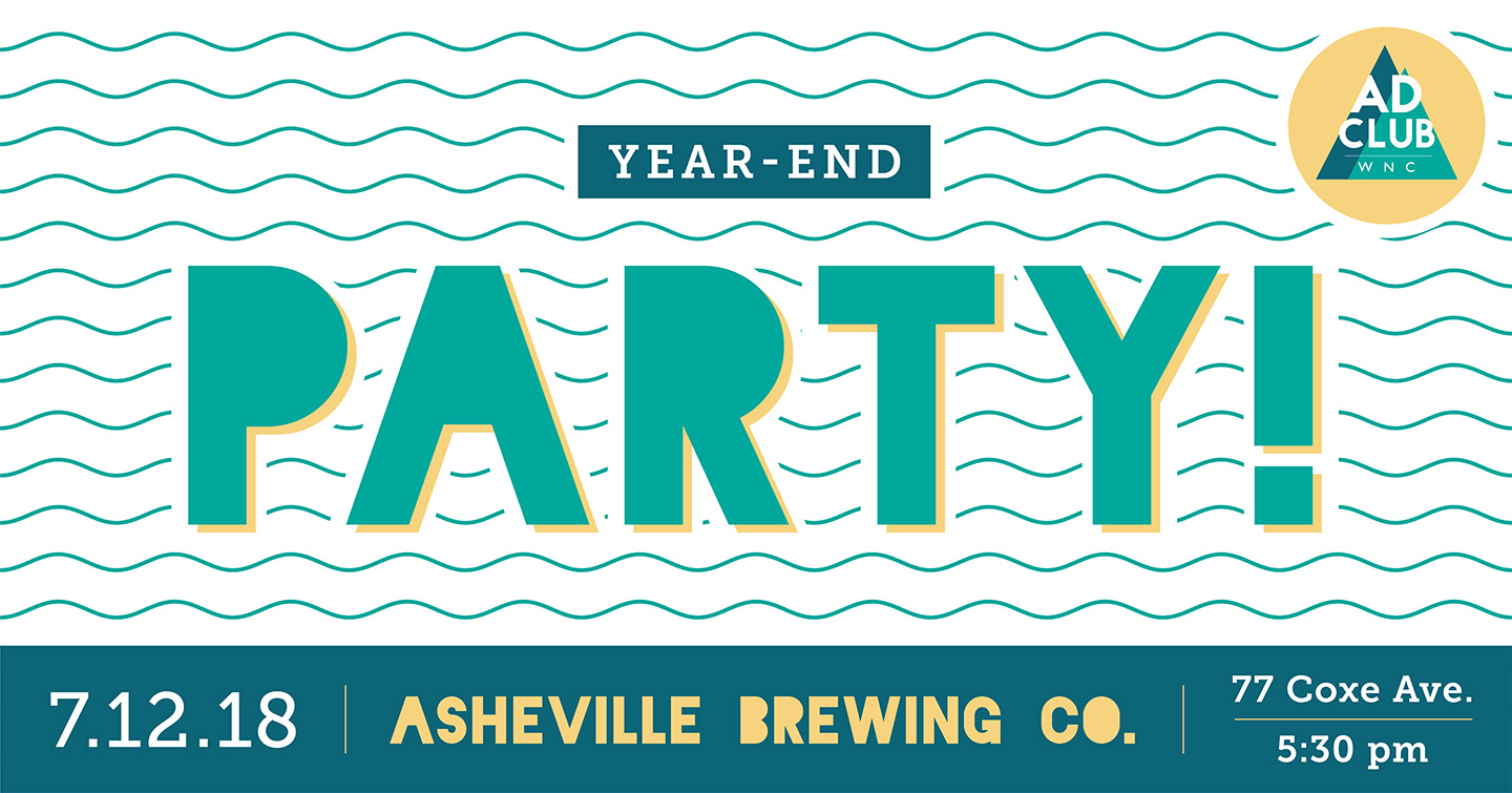 Summery end-of-the-year party banner