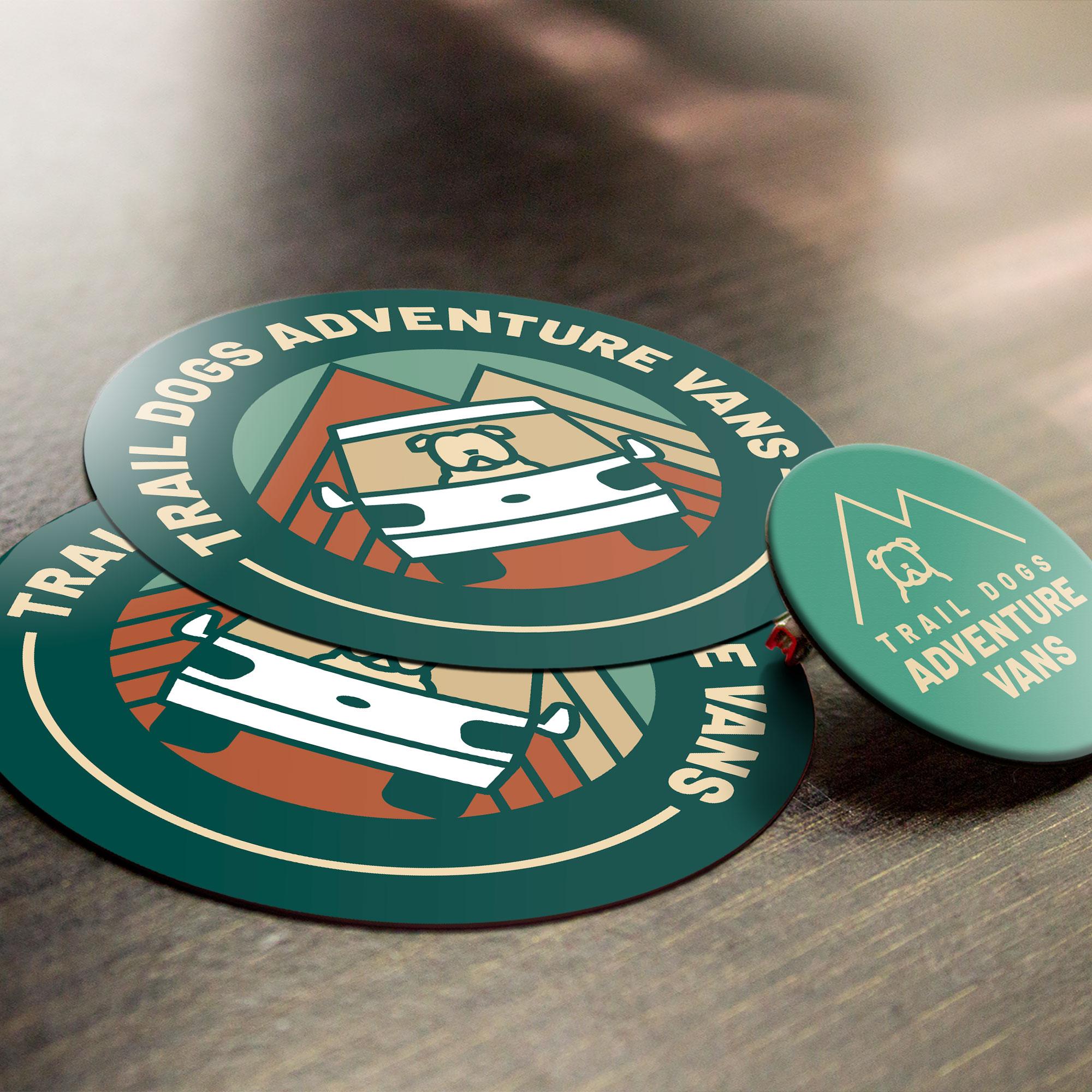 sticker design asheville, decal illustration nc