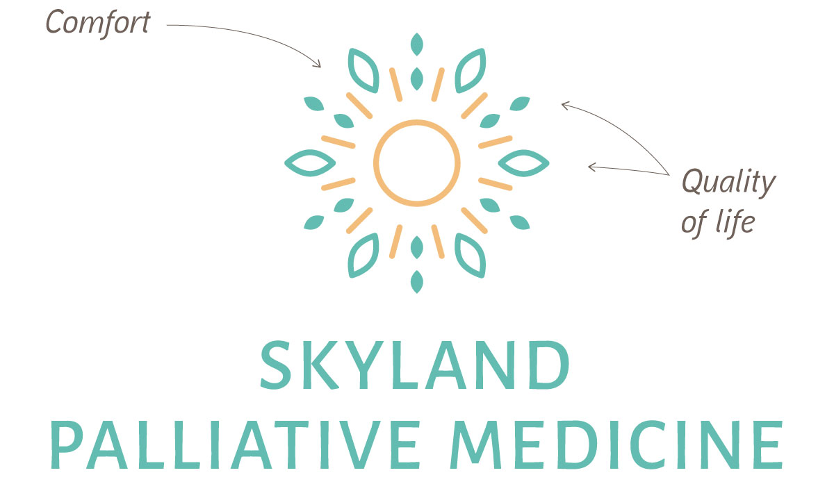 Getting to know the company and researching the industry led to this    logo for a physician   , which expresses the business's unique values through the design.