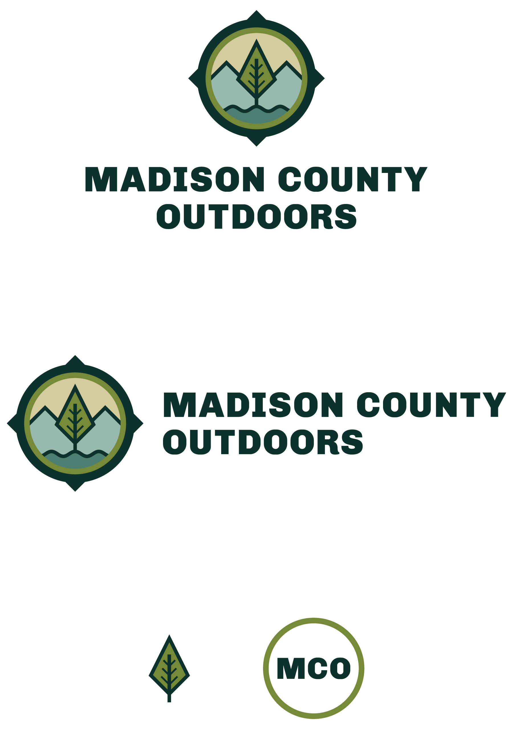 Secondary logos and icons