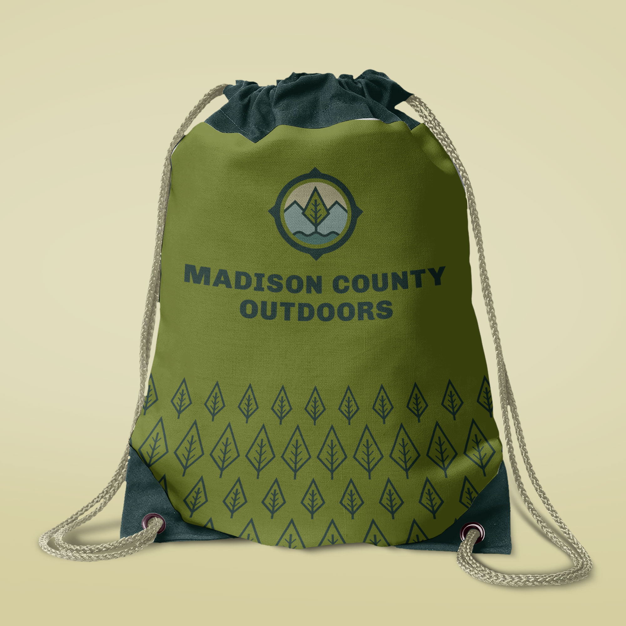 logo and icon designs for madison county nc outdoor organization, asheville graphic designer