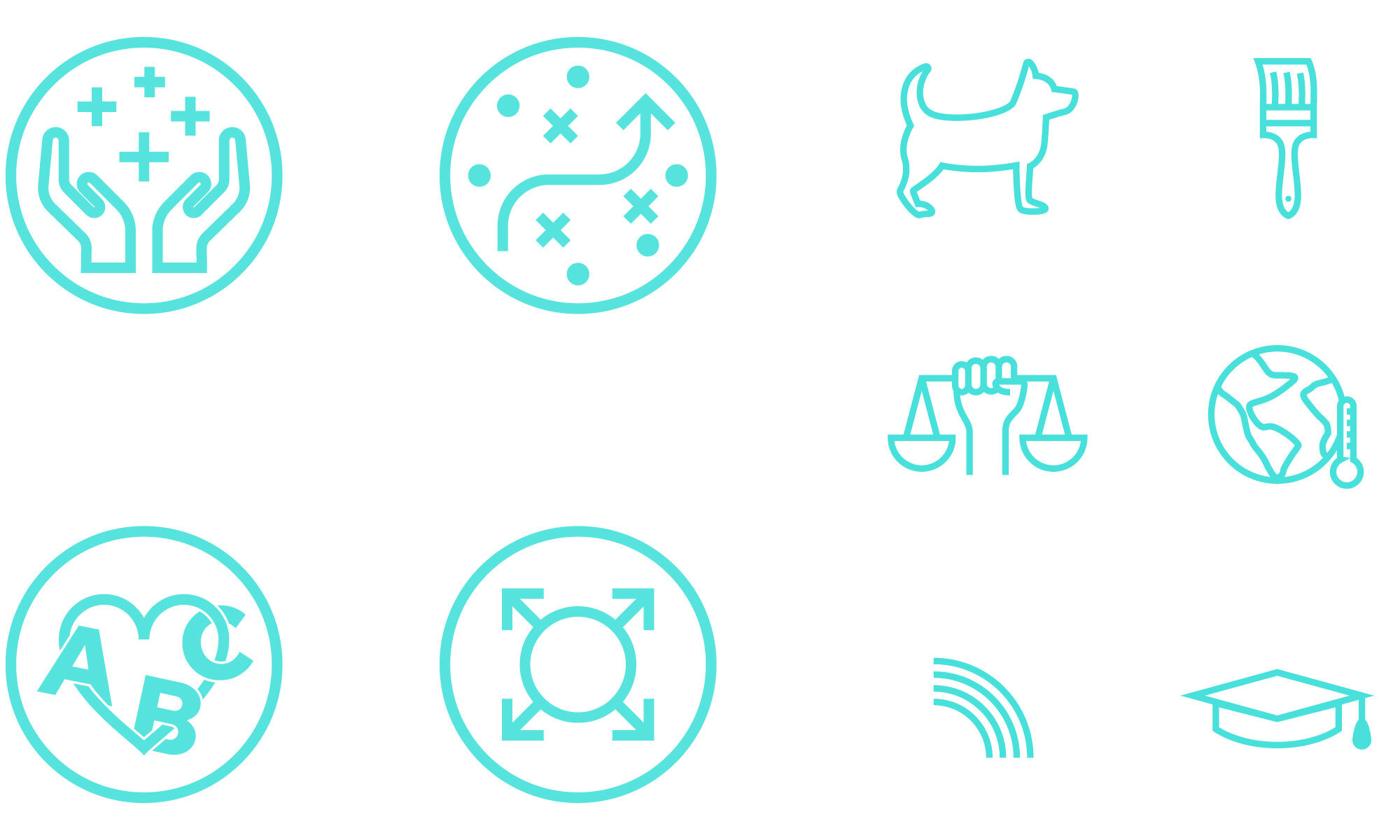 custom icon design, event promotion graphics, asheville illustrator, asheville icon design