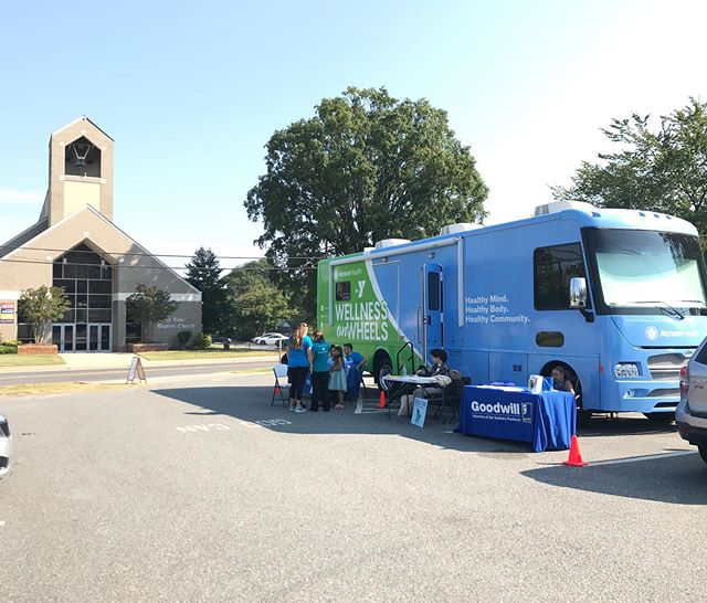 Come visit the #WOWCLT Wellness on Wheels Mobile today from 10 a.m. - 1 p.m. across from St. Luke Church on Statesville Ave. Free health screenings and more!!