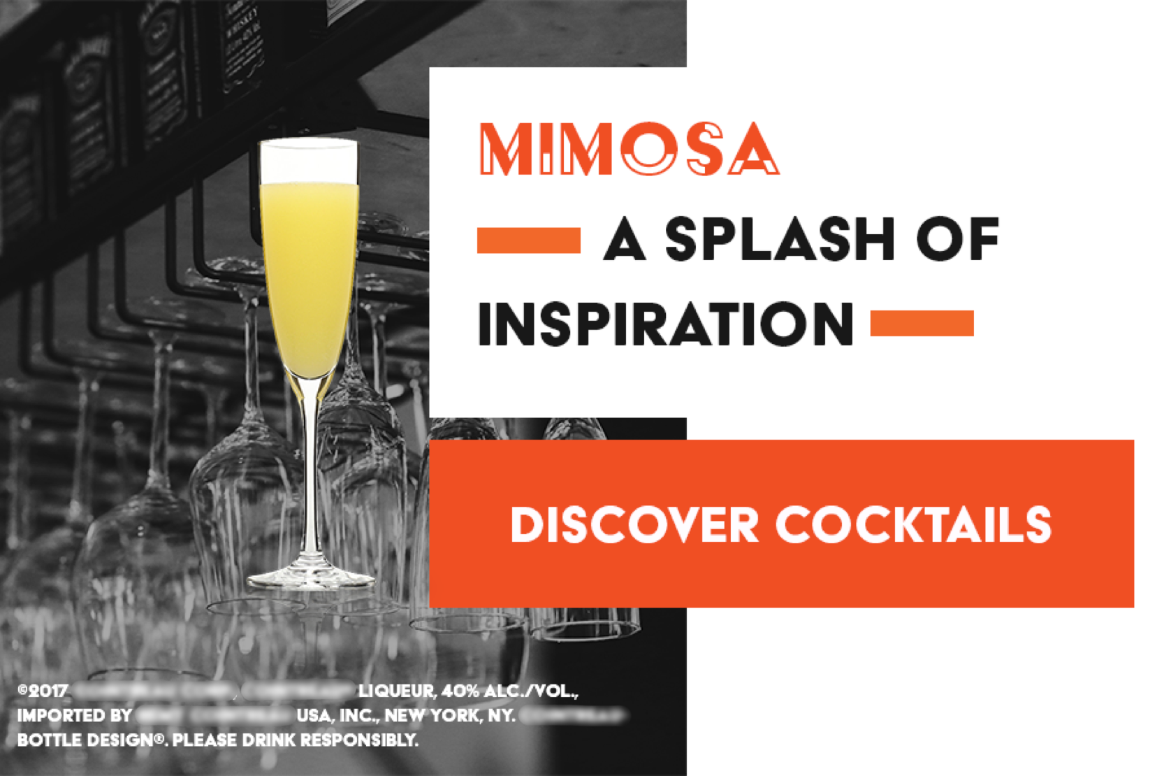 Discover Cocktails Mimosa Pairings Ad Unit