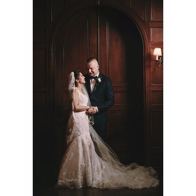 Marilyn + Shem #love #weddingday #romance #weddingphotography #windsorweddingphotographer #luxurywedding #bridalportrait #weddinginspiration #loveintheair #weddingseason #rembrandtlighting