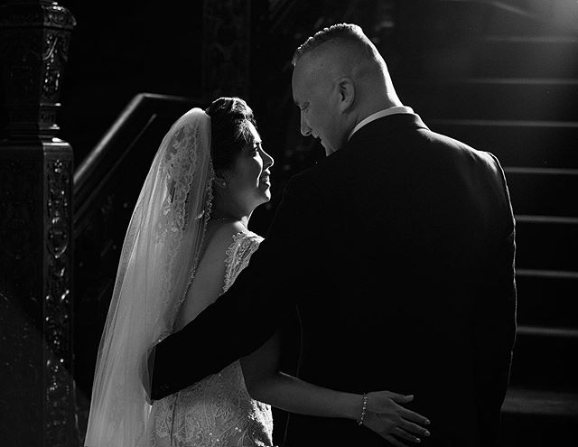 Marilyn + Shem #love #weddingday #romance #blackandwhite #weddingphoto #luxurywedding #bridalportrait #weddinginspiration #loveintheair #weddingseason #rembrandtlighting #windsorweddingphotographer