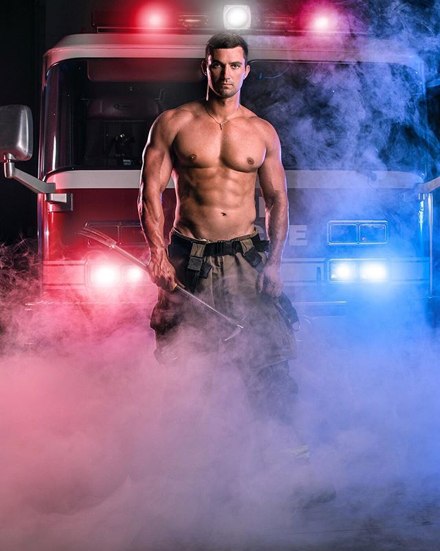 Photographed charity calendar with Windsor firefighters to raise money last year for a good cause. 🔥💪🏼 #photography #portraits #editorial #firefighters #canadian #hero #windsorphotographer #windsorfirefighters